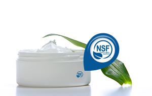 "NSF ""contains organic ingredients"" standard"
