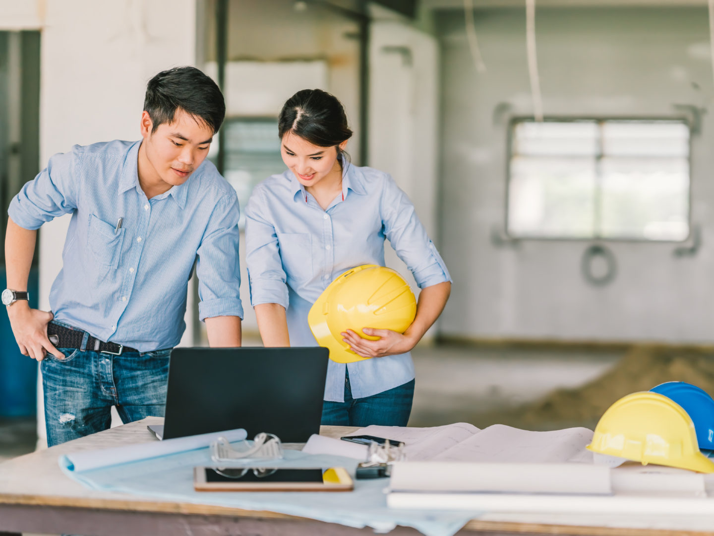 Man and Woman Construction Plans - Building and Construction | NSF International