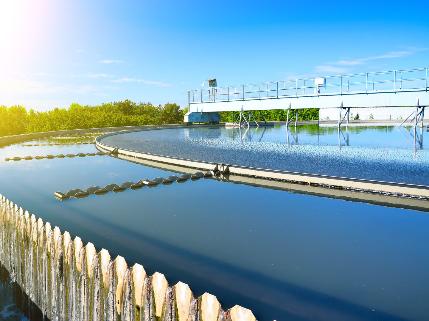 Urban wastewater treatment plant