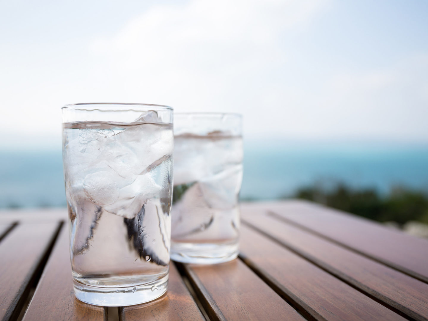 Drinking water in glasses - Water Treatment Products Testing and Certification Services