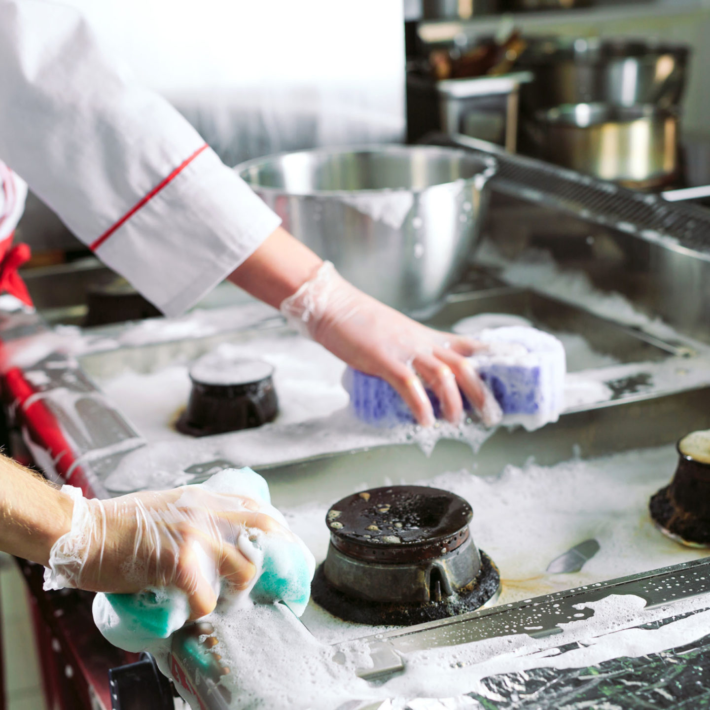 Commercial stove cleaning | NSF International