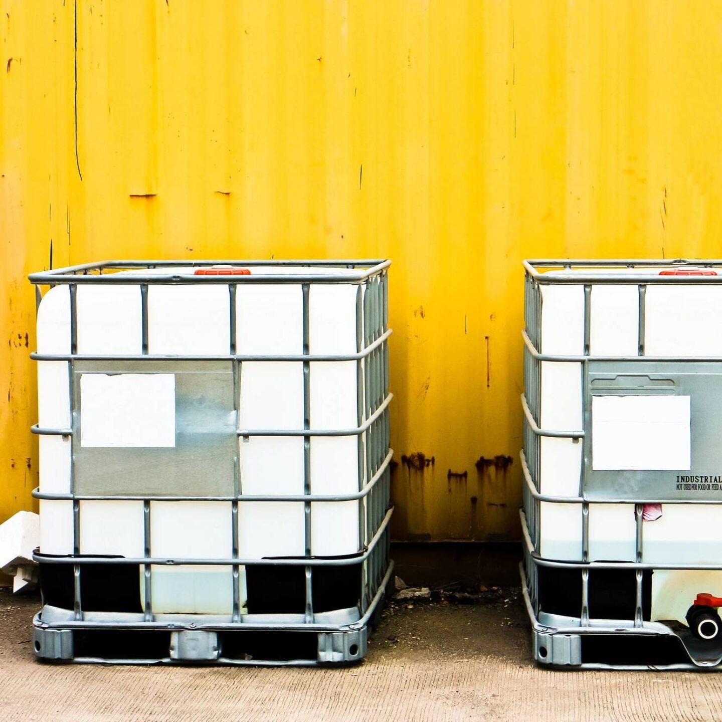White IBC containers - Opportunities in Water Treatment for Chemical Manufacturers | NSF International