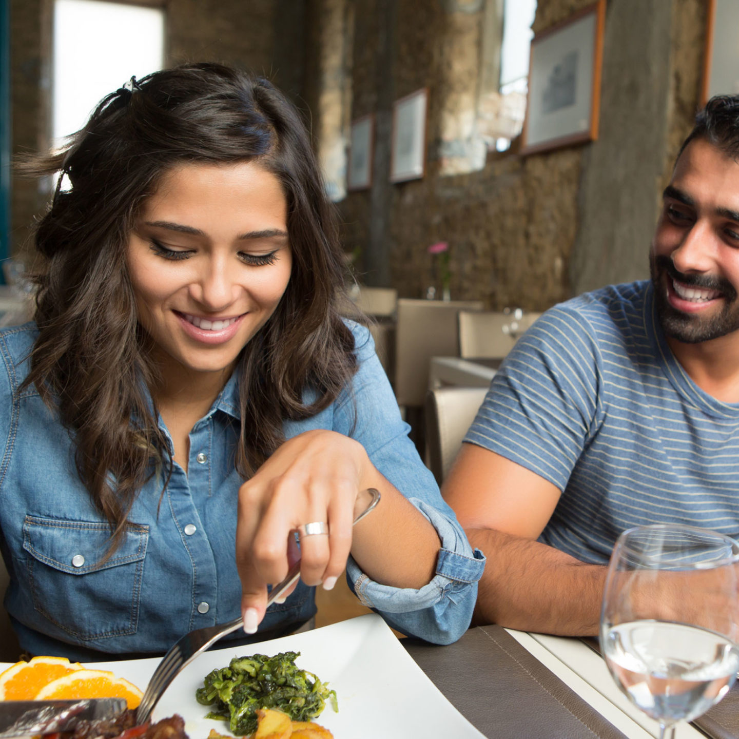 Man and woman eating in restaurant - Avoid Souring Your Sweet Day - Love our Valuable Tips | NSF International