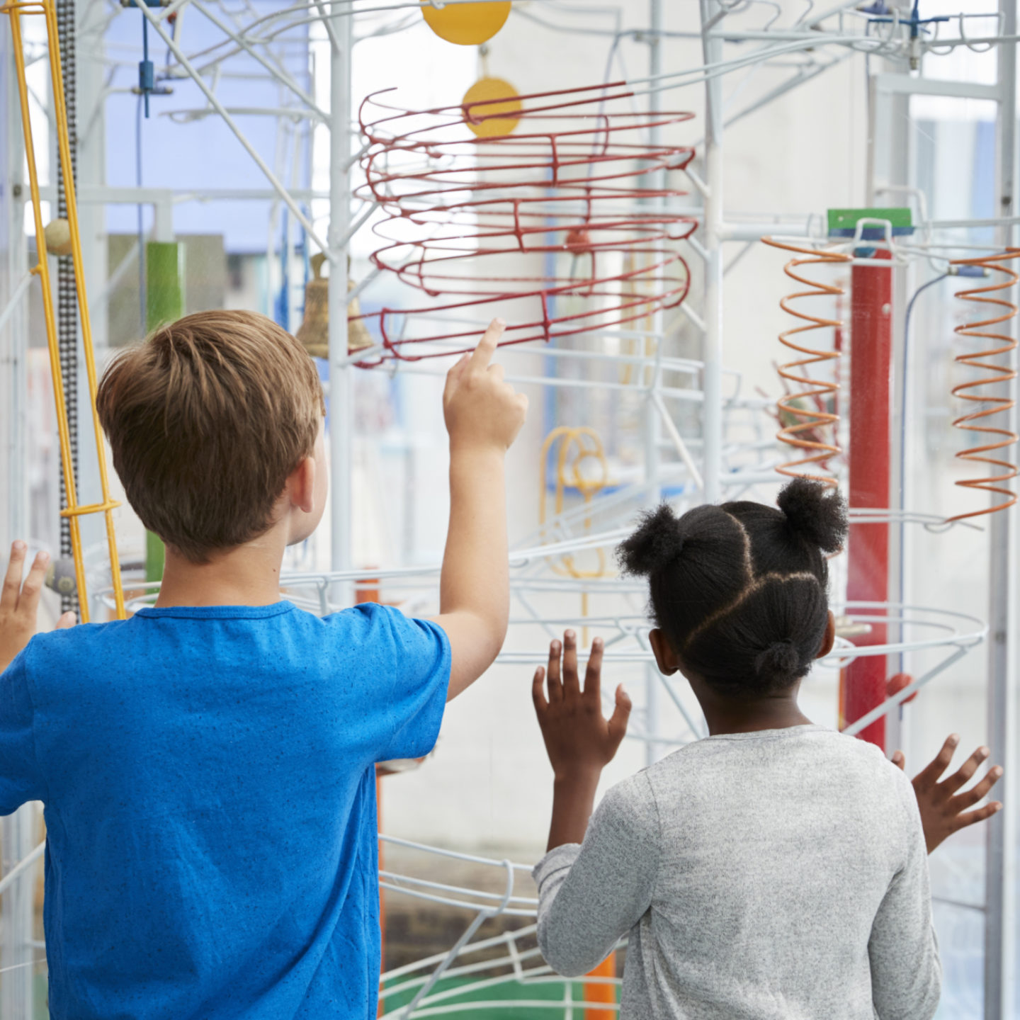 Kids at Science Center