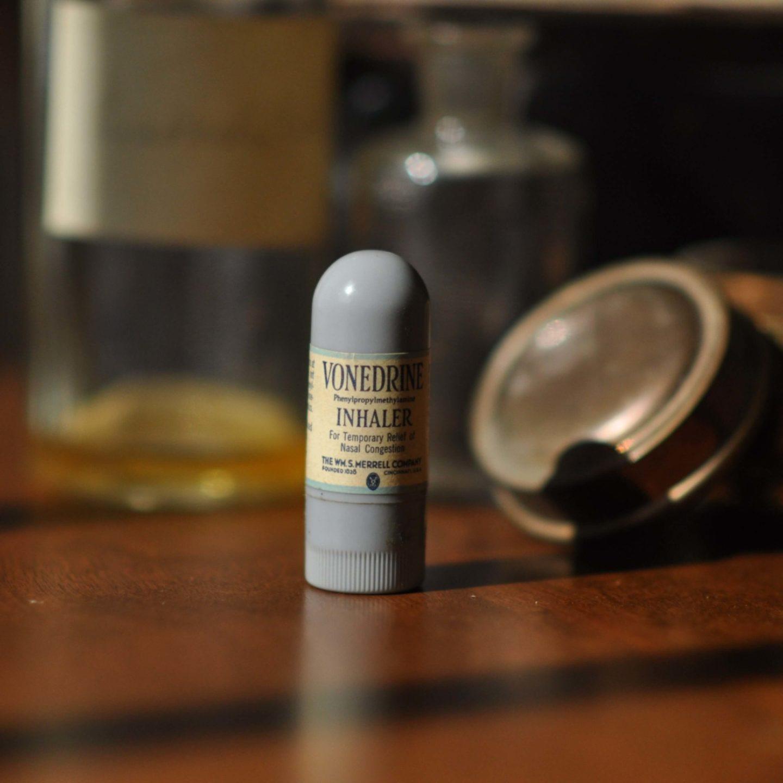 1940s Vonedrine Inhaler