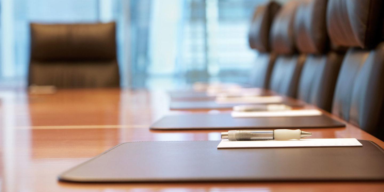 Empty boardroom - NSF International Board of Directors | NSF International