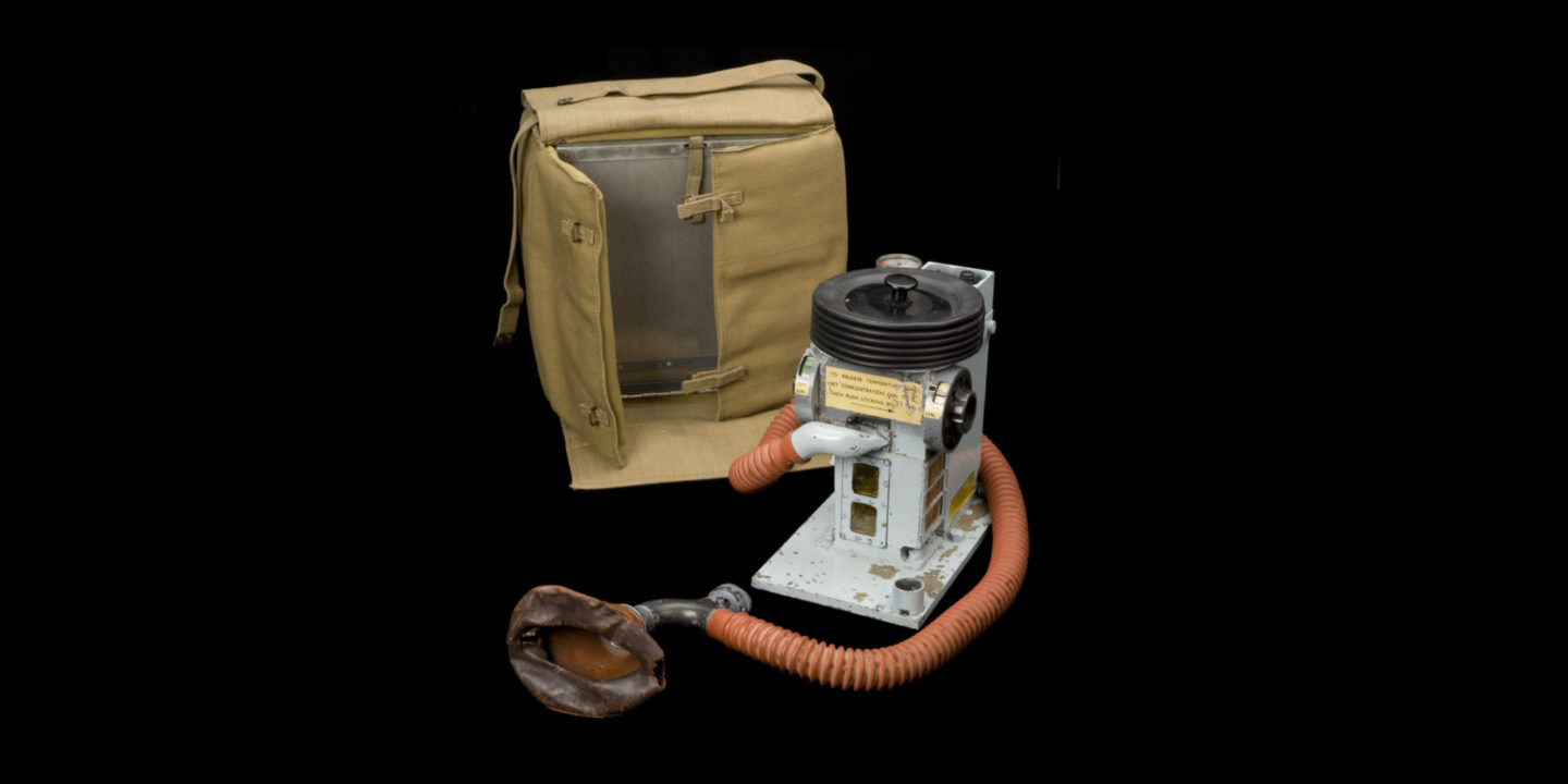 ESO - Designed and manufactured in 1943 during WWII, the ESO (Epstein Suffolk Oxford) machine was an accurate, lightweight chloroform vaporizer that could withstand a parachute drop | NSF International