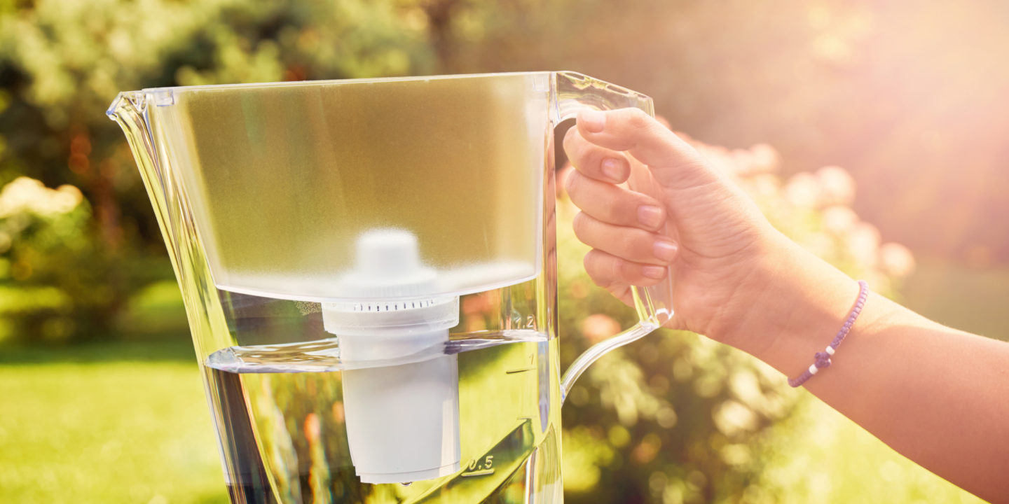 Water pitcher with filter   NSF International