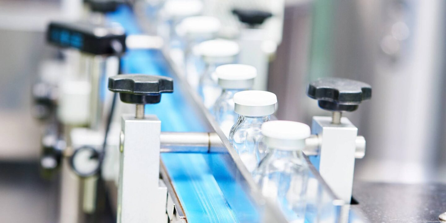 Glass vials in pharma manufacturing facility - Ensure CAPA Effectiveness With CAPA Hierarchy | NSF International