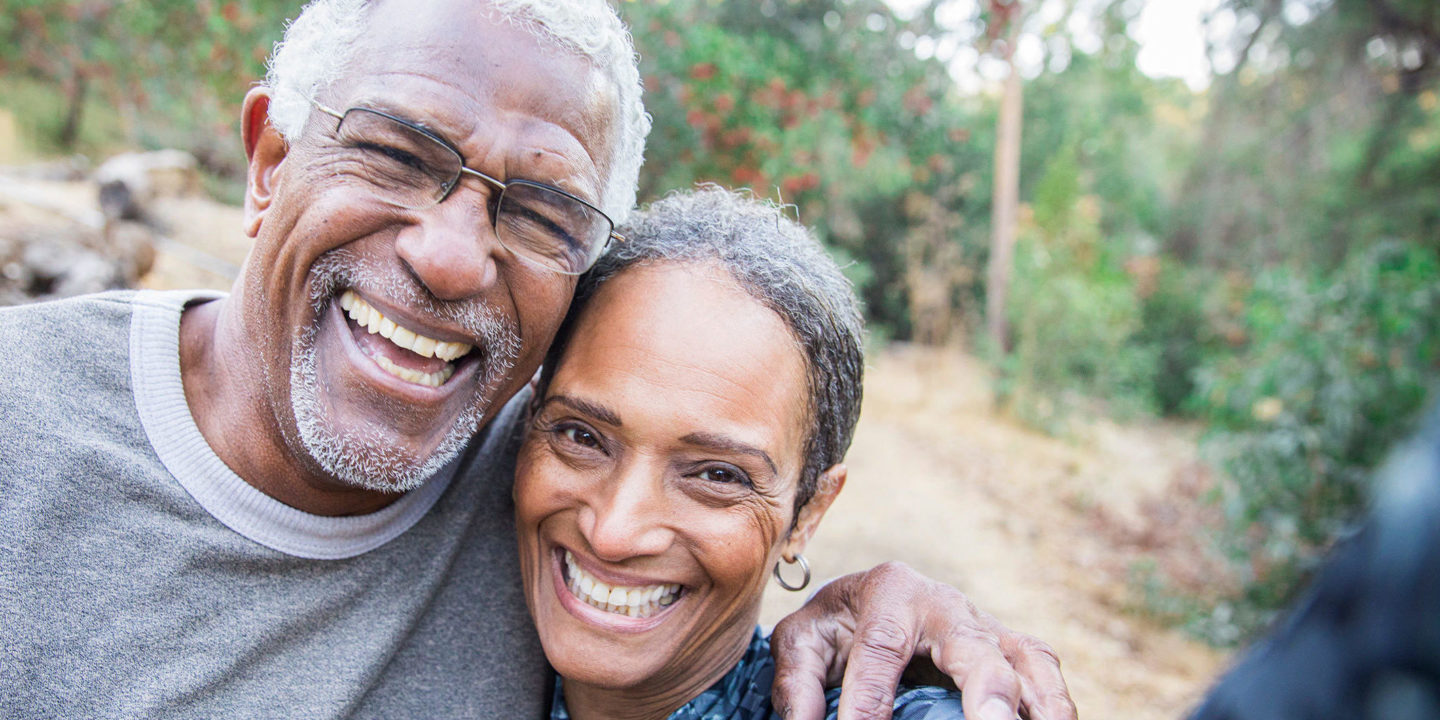 Older Couple Takes a Selfie during their Workout - Health Certification Services   NSF International