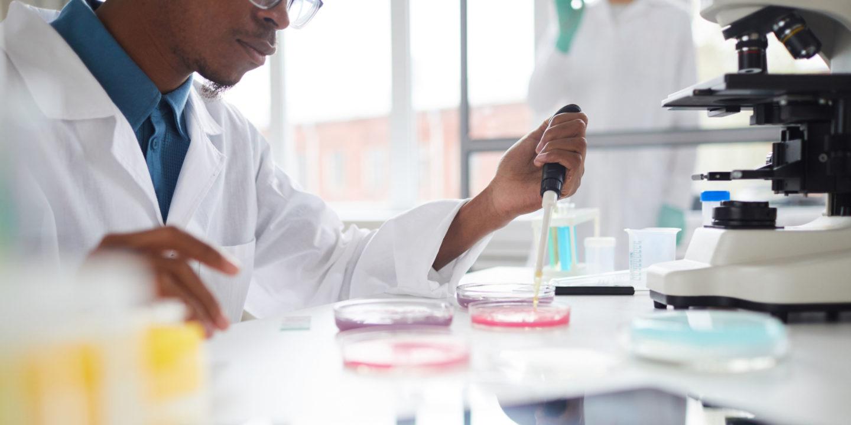 Scientist in lab study - Scientific Studies | NSF International