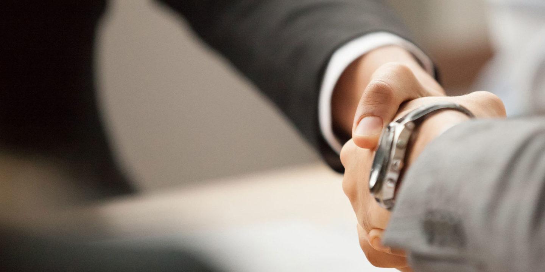 Shaking hands - Hiring Process   NSF International