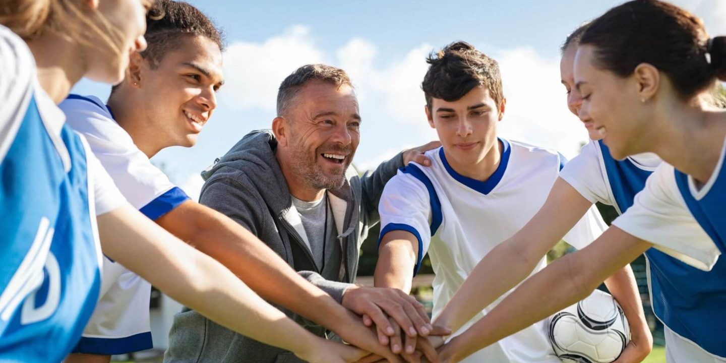 Team huddle - What Parents and Coaches Need to Know About Supplements for Student Athletes | NSF International