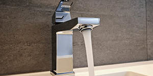 Faucet on 200x300