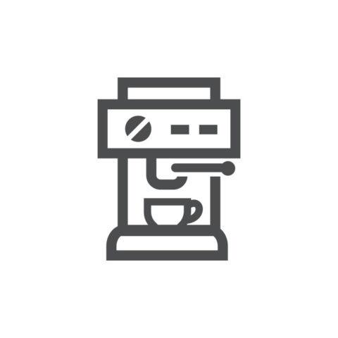 Coffee machine icon   NSF International