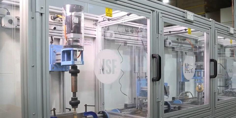 UK water laboratory testing capabilities - NSF REG4 Certification | NSF International