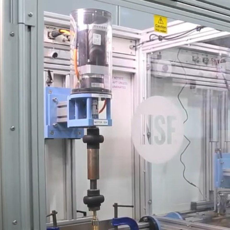 UK water laboratory testing capabilities - NSF REG4 Certification   NSF International