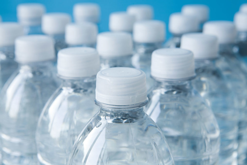 Bottled mineral water