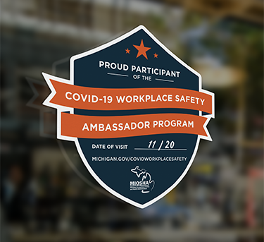 COVID-19 Workplace Safety Ambassador Program