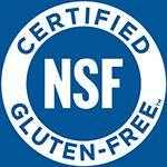 NSF Glute-free Certified mark