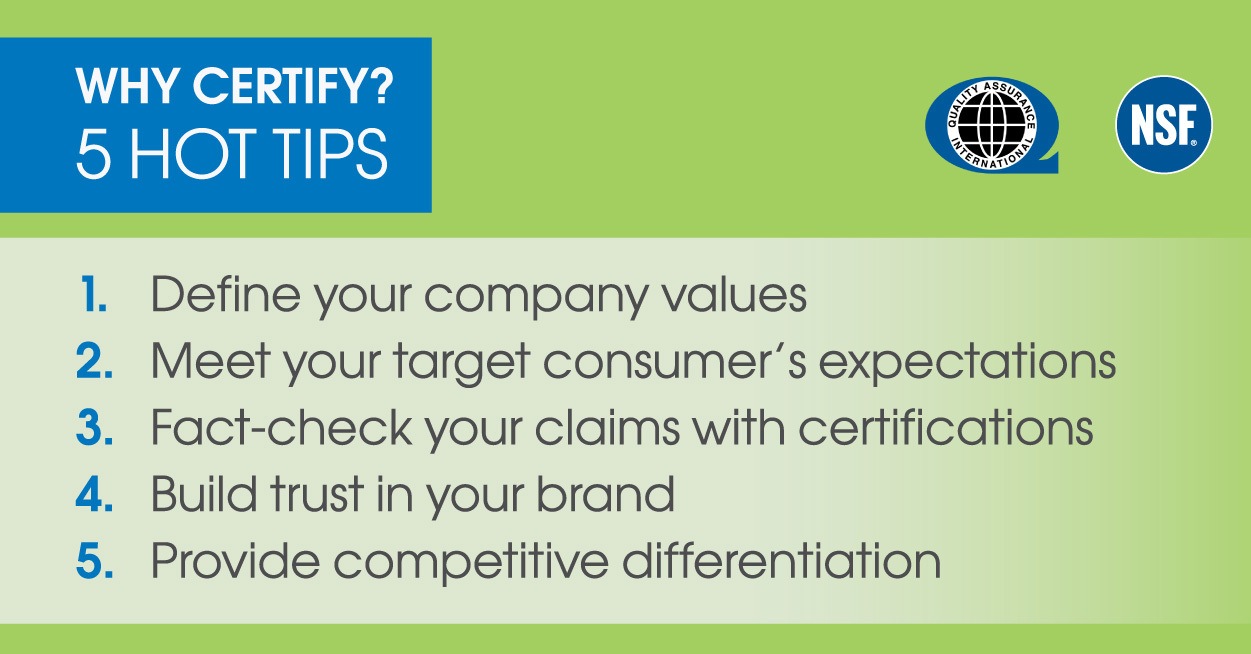 Why Certify? 5 Hot Tips