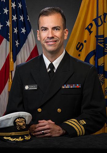 Commander Luis O. Rodriguez Headshot