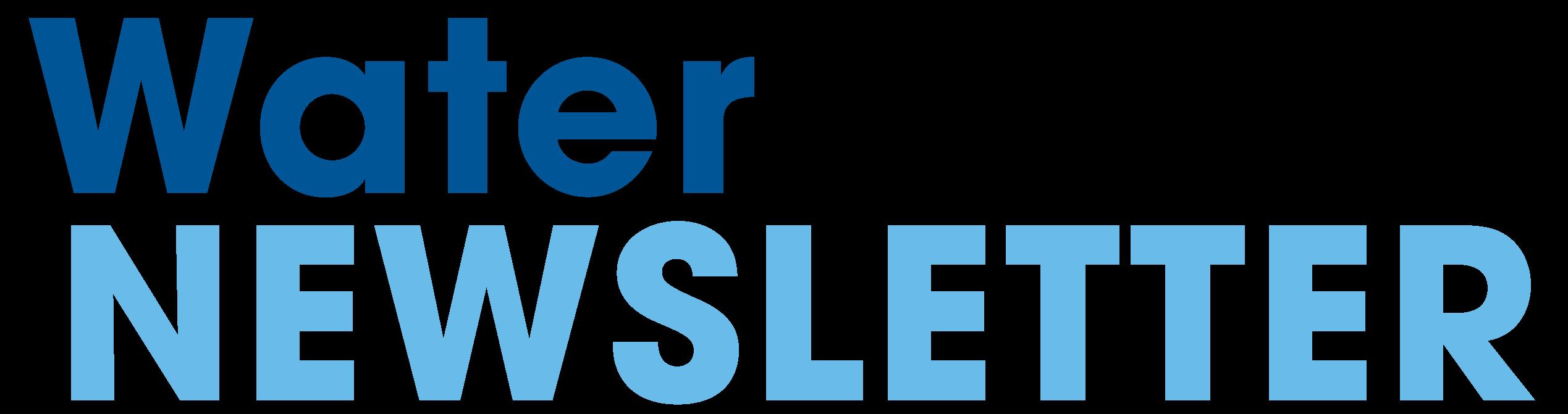 Water Newsletter