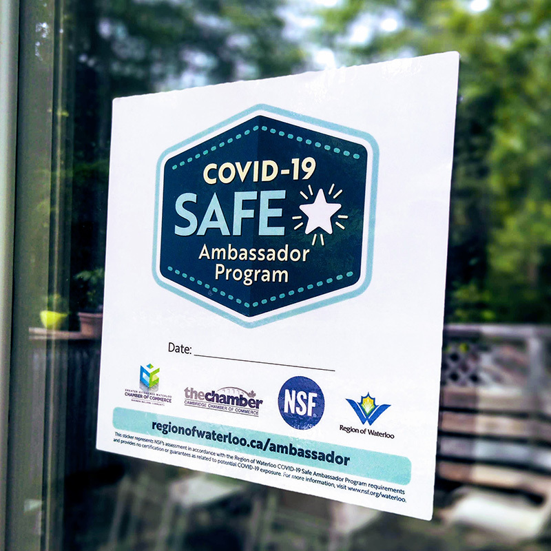 Canada's First COVID-19 Safety Ambassadors Help Local Businesses Reopen Safely